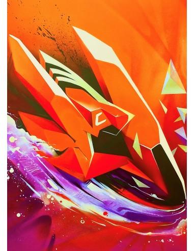 Valer - Gravitation orange&mauve